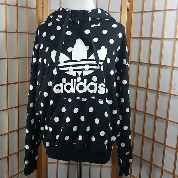 adidas polka dot hoodie